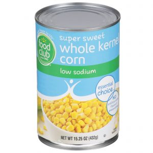 Super Sweet Whole Kernel Corn - Low Sodium