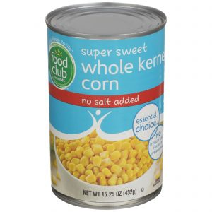 Super Sweet Whole Kernel Corn - No Salt Added