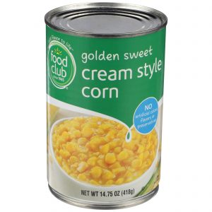 Golden Sweet Cream Style Corn