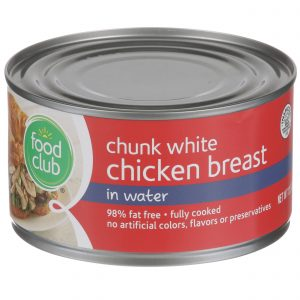 Chunk White Chicken Breast In Water