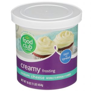 Cream Cheese Creamy Frosting