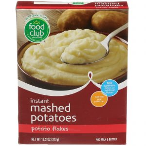 Instant Mashed Potatoes, Potato Flakes