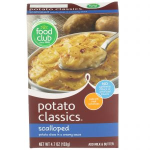 Potato Classics, Scalloped