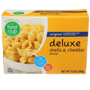 Original Deluxe Shells & Cheddar Dinner