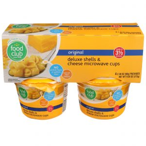 Original Deluxe Shells & Cheese Microwave Cups