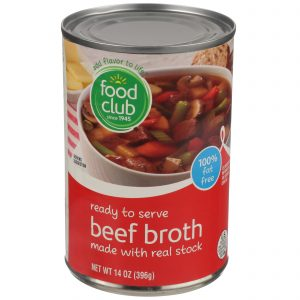 Beef Broth, Ready To Serve