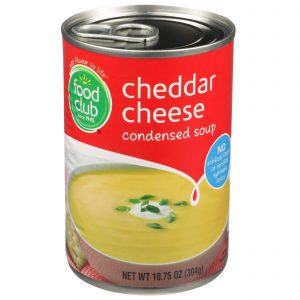 Cheddar Cheese Condensed Soup