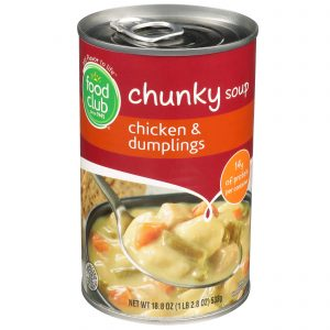 Chicken & Dumplings Chunky Soup