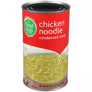Chicken Noodle Condensed Soup