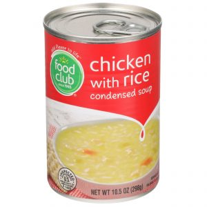 Chicken With Rice Condensed Soup
