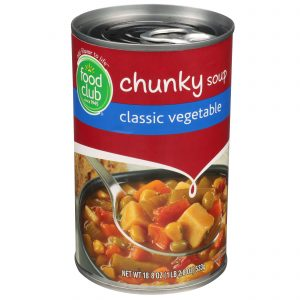 Classic Vegetable  Chunky Soup