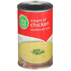 Cream Of Chicken Condensed Soup