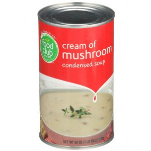 Cream Of Mushroom Condensed Soup