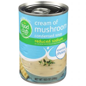 Cream Of Mushroom Condensed Soup - Reduced Sodium