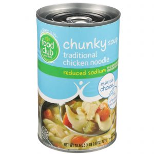 Traditional Chicken Noodle Chunky Soup - Reduced Sodium