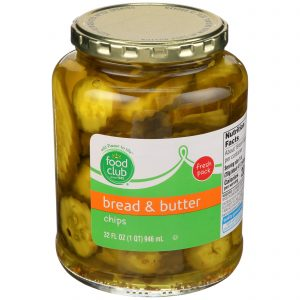 Bread & Butter Chips Pickles