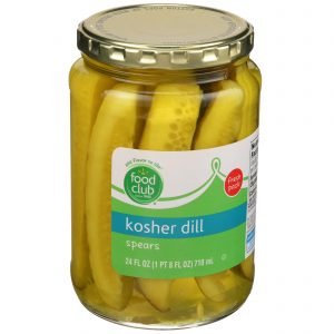 Kosher Dill Spears Pickles