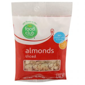 Almonds, Sliced