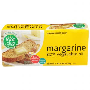 Margarine 80% Vegetable Oil