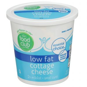 Low Fat Cottage Cheese, Small Curd