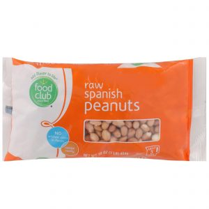 Spanish Peanuts, Raw
