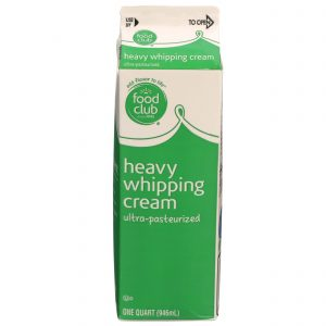 Heavy Whipping Cream Ultra-Pasteurized