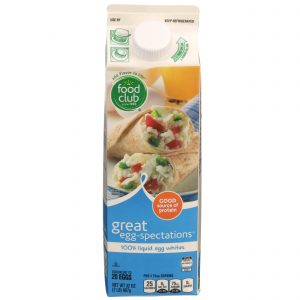 Great Egg-Spectations 100% Liquid Egg Whites
