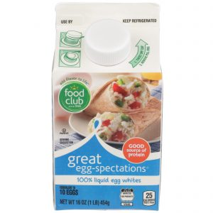 Great Egg-Spectations, 100% Liquid Egg Whites