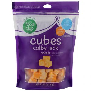 Cubes, Colby Jack Cheese