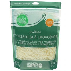 Shredded Mozzarella & Provolone Cheese Blend