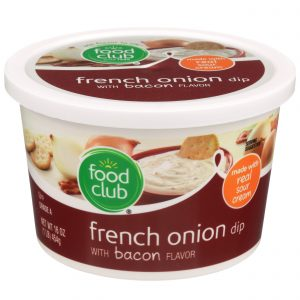 French Onion Dip With Bacon Flavor