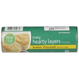 Flaky Hearty Layers Biscuits, Butter Flavored