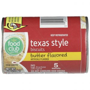 Texas Style Biscuits, Butter Flavored
