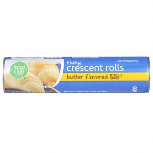 Flaky Crescent Rolls, Butter Flavored