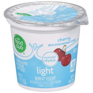 Cherry - Light Nonfat Yogurt