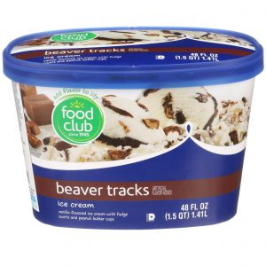 Beaver Tracks Ice Cream