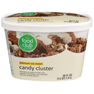 Candy Cluster Premium Ice Cream