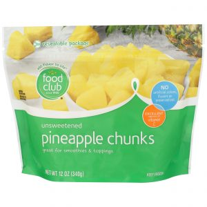Pineapple Chunks, Unsweetened
