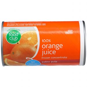 100% Orange Juice Frozen Concentrate, Extra Pulp