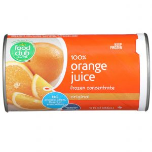 100% Orange Juice, Frozen Concentrate, Original