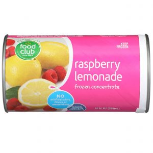 Raspberry Lemonade Frozen Concentrate