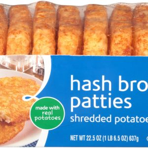 Hash Brown Patties, Shredded Potatoes