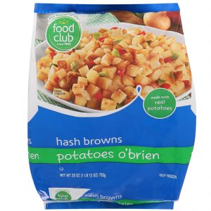 Hash Browns, Potatoes O'Brien