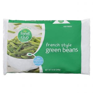 Green Beans, French Style