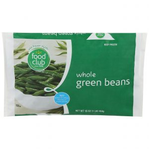 Green Beans, Whole