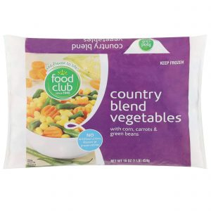 Country Blend Vegetables With Corn, Carrots & Green Beans