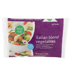 Italian Blend Vegetables