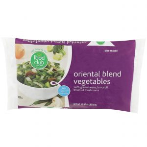 Oriental Blend Vegetables
