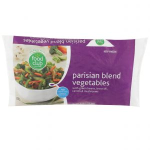 Parisian Blend Vegetables