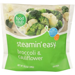 Steamin' Easy, Broccoli & Cauliflower